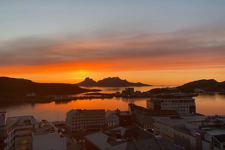 Panoramaleilighet i Bodø Sentrum