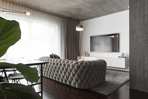 Design Luxury Downtown Montreal (indoor parking)