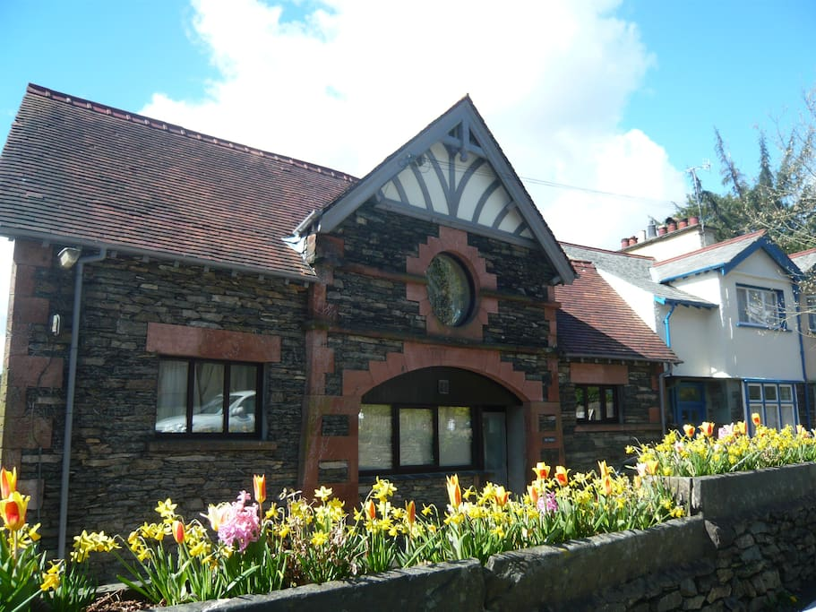 The Stable Nest Exterior