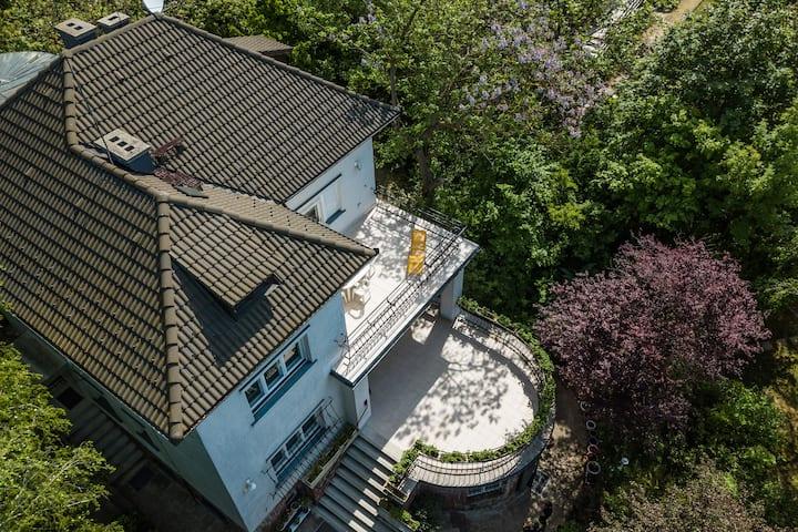 Bauer Villa Balatonakarattya, Balaton 900m