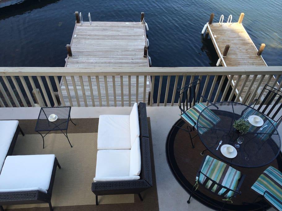 Private dock / boat slip!