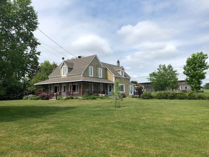 Grande maison ancestrale à Bonaventure