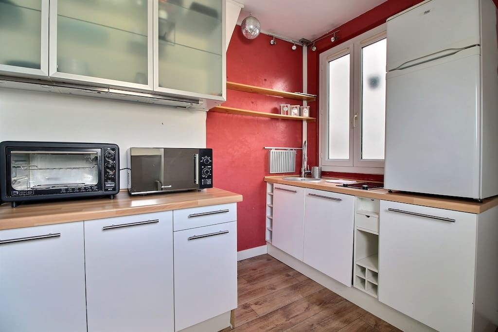 Equipped kitchen