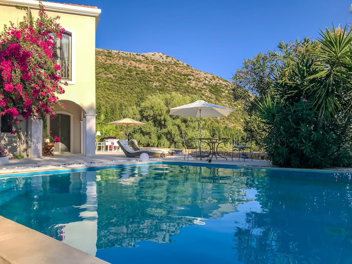 Villa Amadeus with Pool in the Heart of Nature