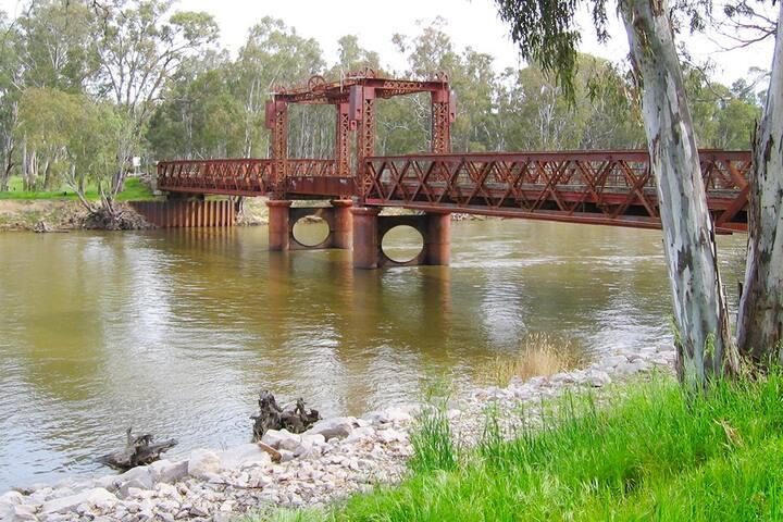 Bridge, Tocumwal NSW, Murray River