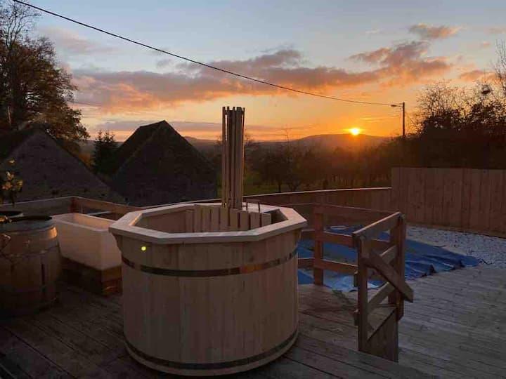 Maison bourguignonne-poêle-bain norvégien-kota