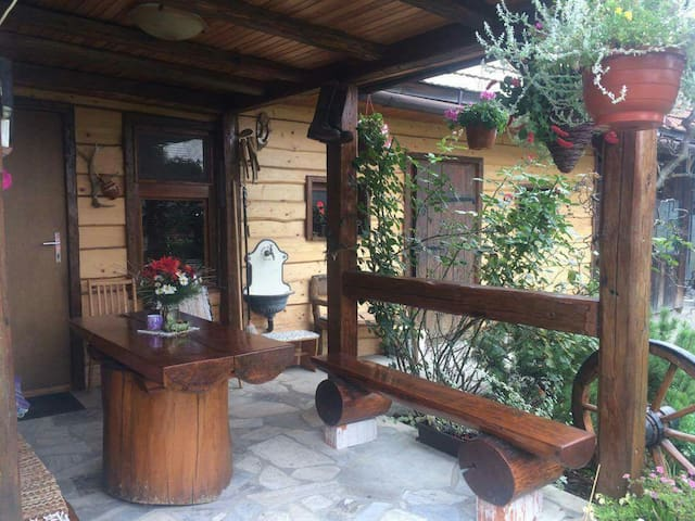 Private room in house garden - Levoča