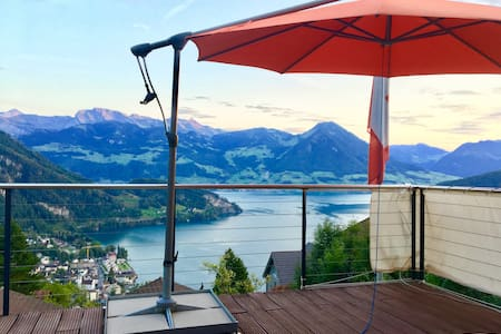 Mini Villa Lake Lucerne - direct at Rigi & Railway