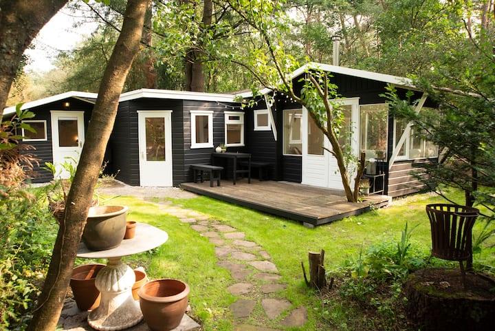 Magisch natuurhuisje direct aan het Veluwse bos