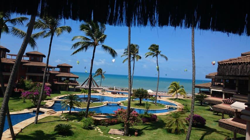 Apartamento luxuoso de frente para o mar Cumbuco