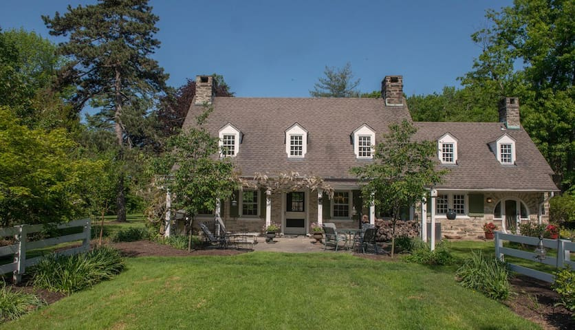 New Weatherill Cottage:Urban Farmette on 3.9 acres - Glenside - House