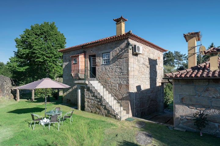 Excellent Cottage in Santa Comba with Communal Swimming Pool!