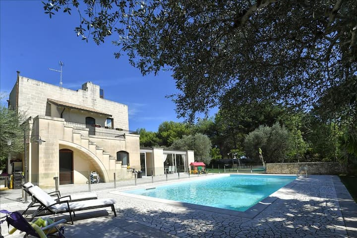 Villa with private pool in Apulia | Panagias tis Loreto - Salento - Zollino - Villa