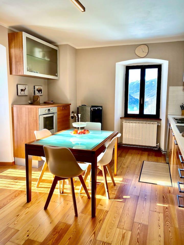 Bellissimo appartamento  in Alta Val Camonica