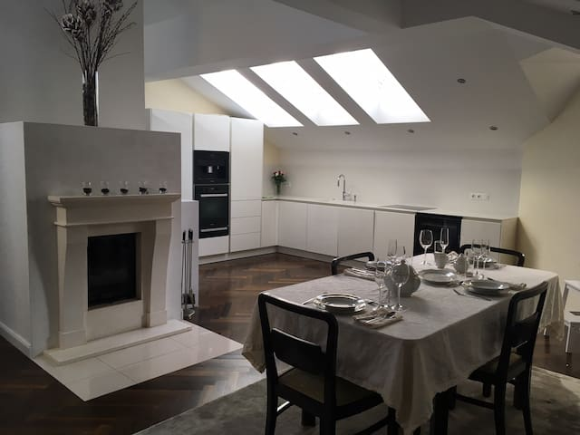 Exklusive 130m² Penthousewohnung mit Dachterasse - Salzbourg - Appartement en résidence