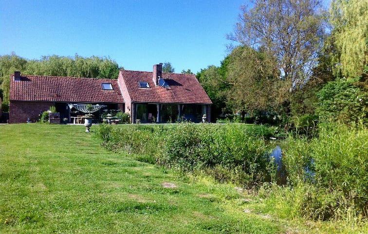 Maison de charme à la campagne - Cysoing - Hus
