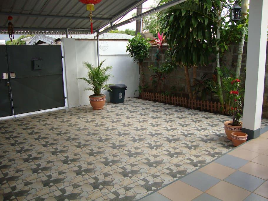 Private entrance & secured garage.