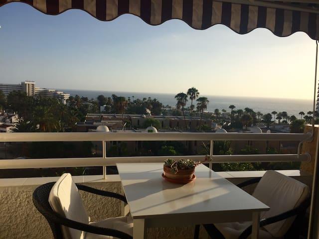 Charming view Playa Américas, Siam Park - Adeje - Leilighet
