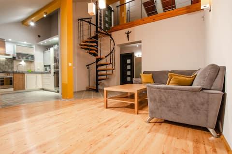 Apartament Wapienna VI z garażem