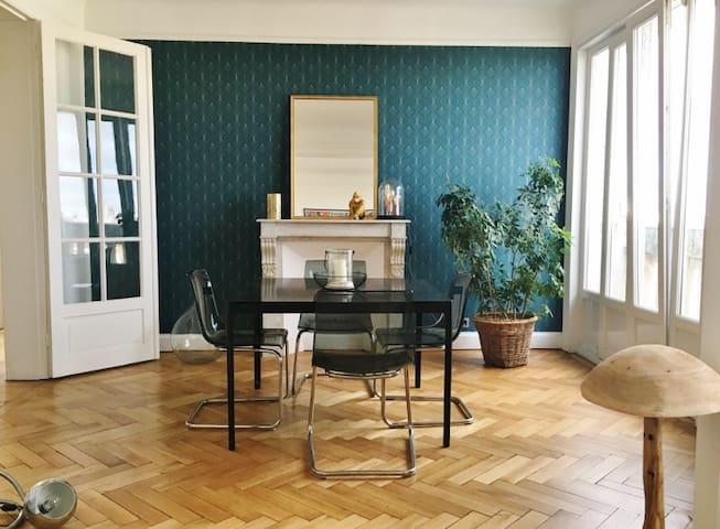 Appartement Haussmannien au cœur de Roubaix
