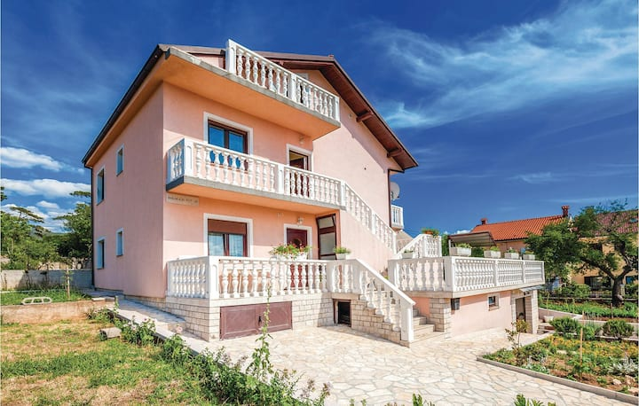 Awesome home in Kraljevica with WiFi and 3 Bedrooms