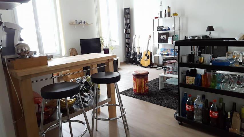 Appartement moderne de 43m2 proche CIBDI BD. - Angoulême - Leilighet