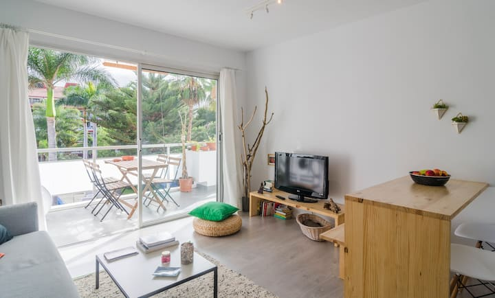 Holiday Apartment 'Casa Agave' with Wi-Fi, Terrace & Shared Pool; Street Parking Available