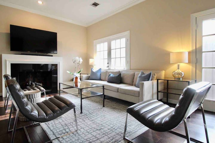 Luxury Chic Highland Park ★ Oak Lawn Near It All