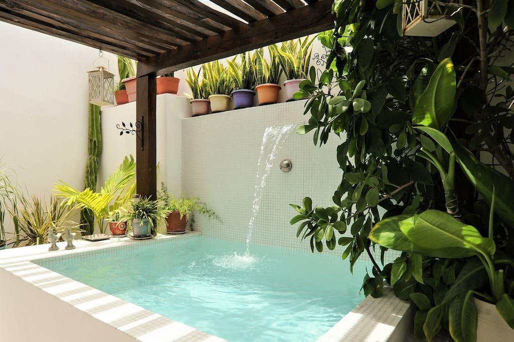 CASA NAAJ 1: Relaxing pool