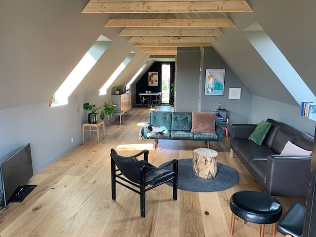Cozy Loft Apartment with private terrace