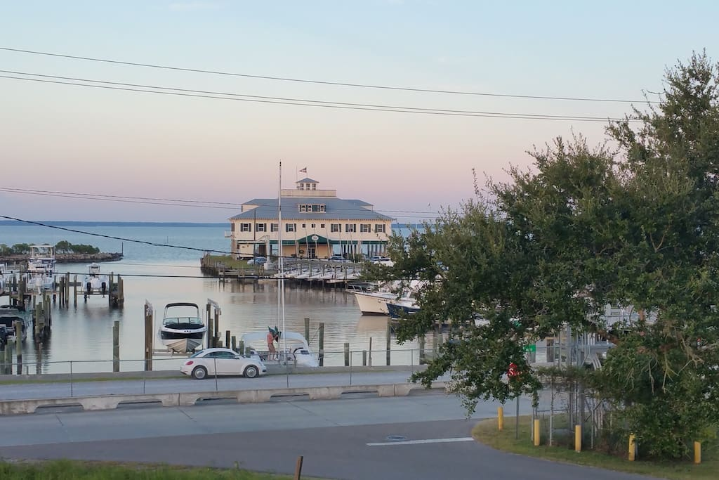 View of Yacht Club