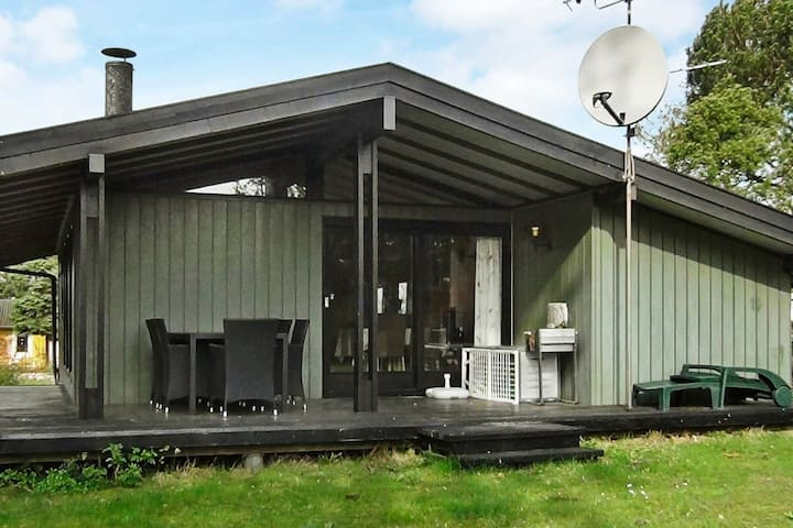 Modern Holiday Home in Skibby with Barbecue