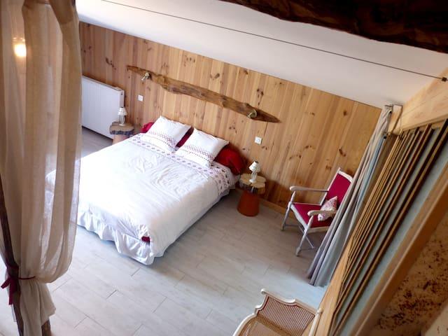 Chambre Coccinelle - Saint-Jean-des-Ollières - Bed & Breakfast