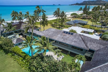Oceanfront luxury private boutique villa with pool - Kailua