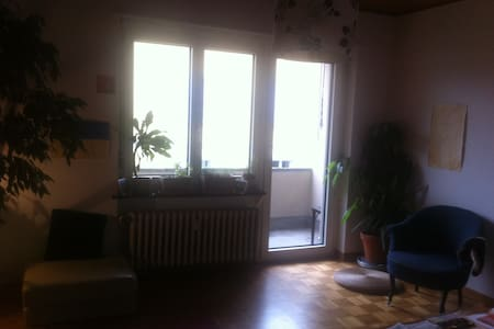 sunny flat (2 rooms) with balcony close to centre - Bern - Byt