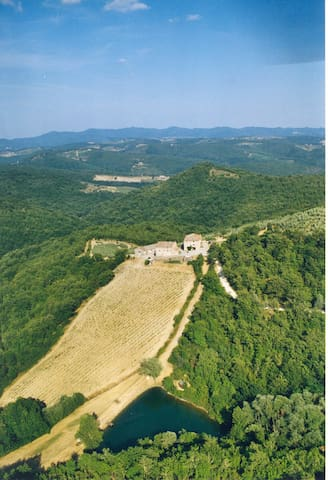 Beautiful large stonehouse in the heart of Chianti - Castellina in Chianti - House