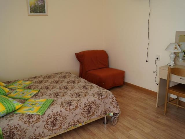 Triple room with terrace. Guest House Family