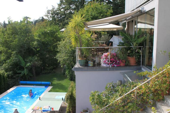 modern house with great view and beautiful garden - Wien - Haus
