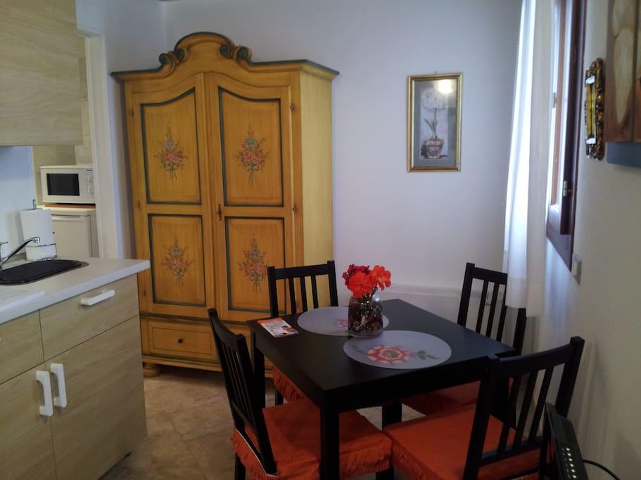 """soggiorno-pranzo appartamento """"Conchiglia"""""""