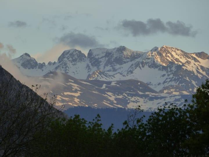 Les Pyrénées grandeur nature en tiny house