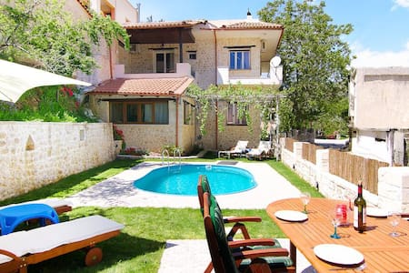 Spacious villa in a beautiful quiet village