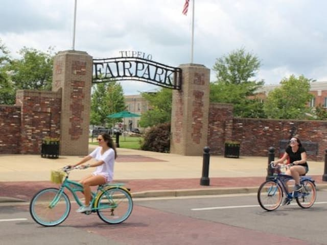 Fairpark, Downtown Tupelo