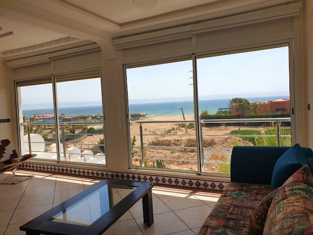 Family Villa in Imi Ouaddar Beach,30 km Off Agadir