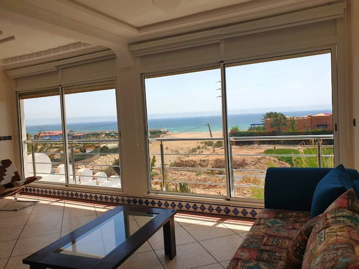 Family Villa in Imi Ouaddar Beach,30 km Off Agadir