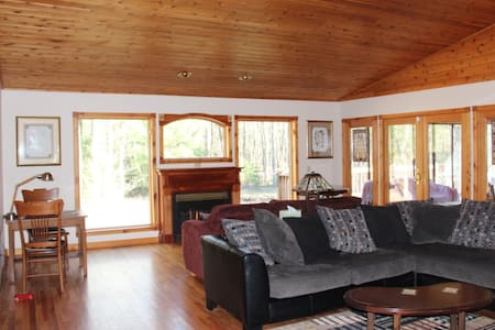 Pentwater:  Big House in the Little Woods