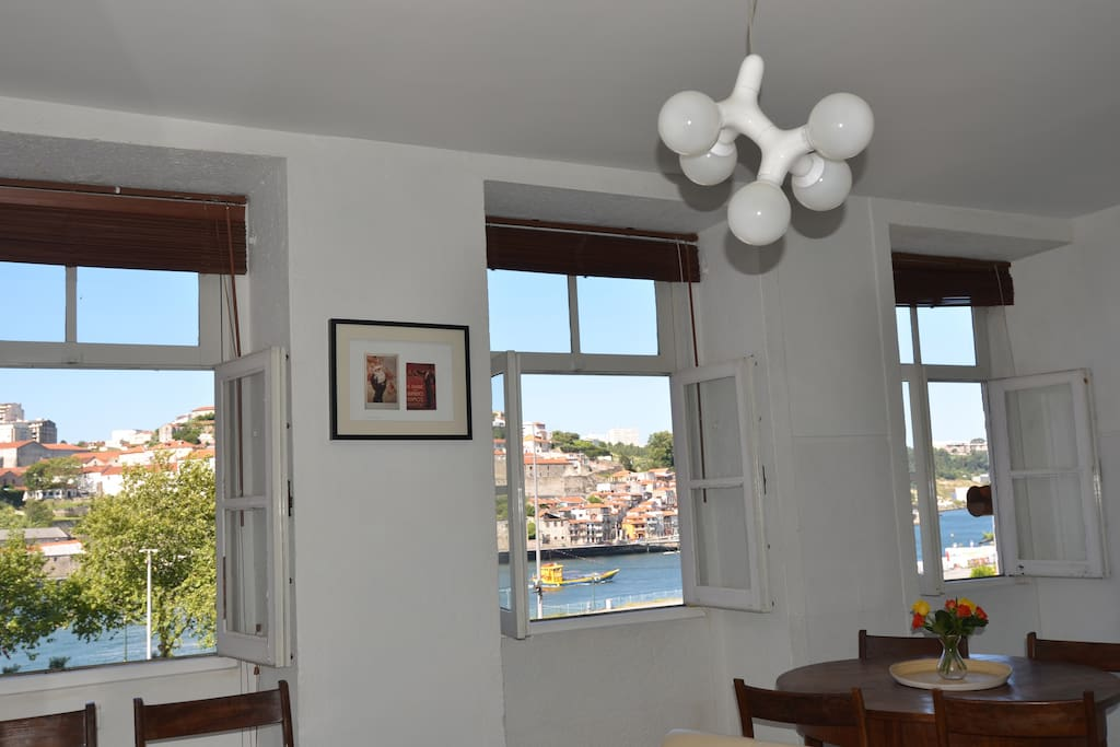 Panoramic view to Douro.
