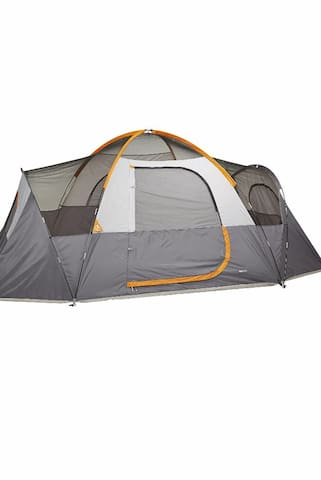 Tent stay...