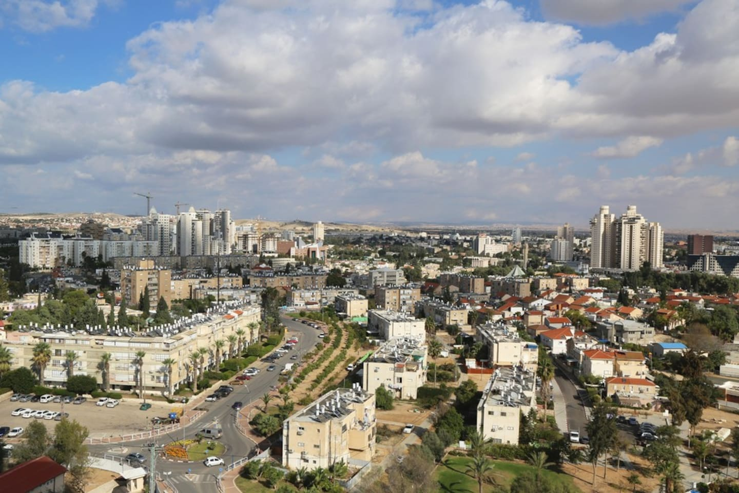 Beautiful Be'er Sheva, in the heart of the Negev.