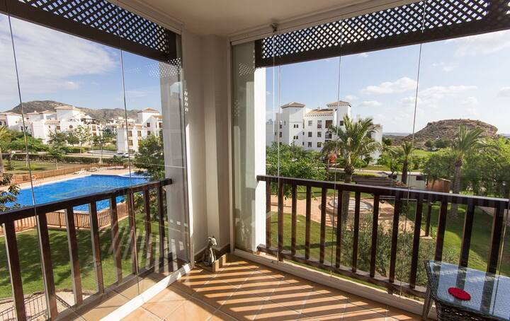 Lovely apartment your home in Spain. El Valle Golf