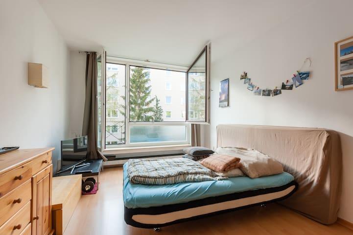 Apartmen Hohenzollenplatz Schwabing - มิวนิก - อพาร์ทเมนท์